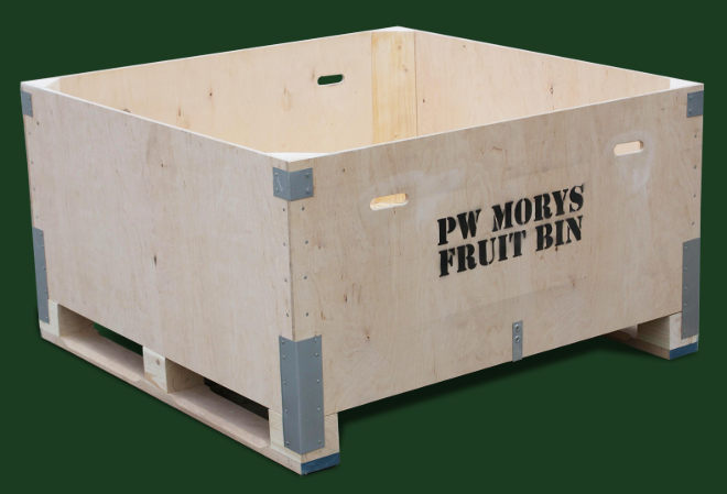 Waterproof plywood bulkbins