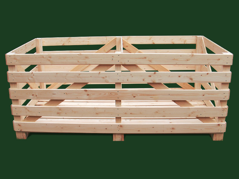 Box-pallet for cabbage