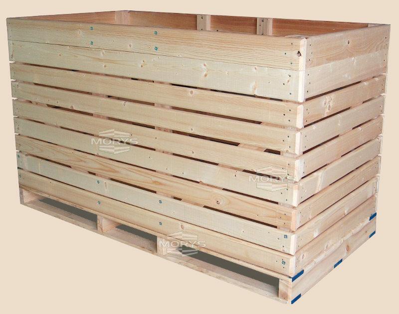 Box-pallet type D1