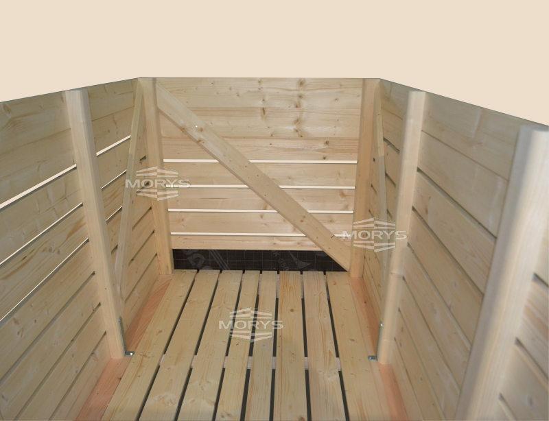Box-pallet type S-FV /SEMI-FORCED VENTILATION/