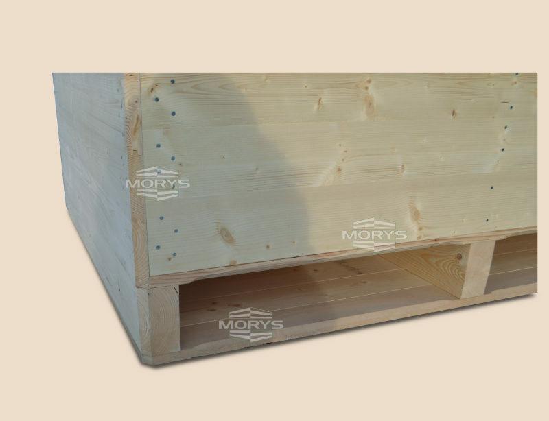 Box-pallet type FV / FORCED VENTILATION /