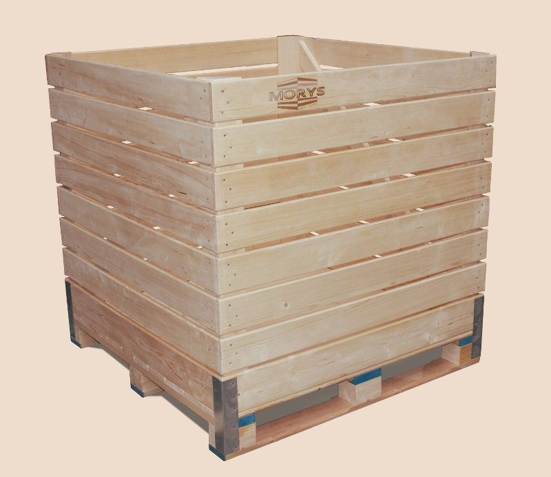 Small box-pallets for vegetables